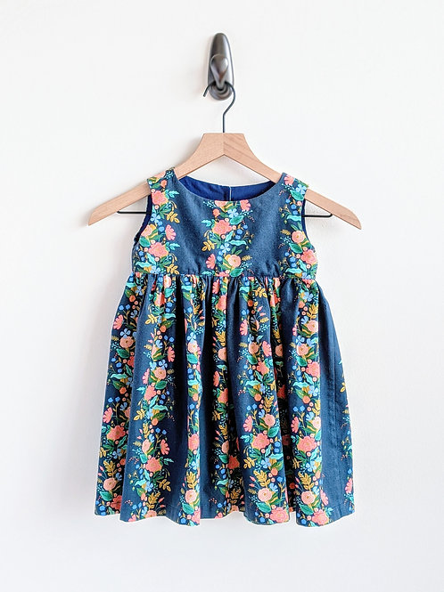 Floral Baby Dress (12-18 mo)
