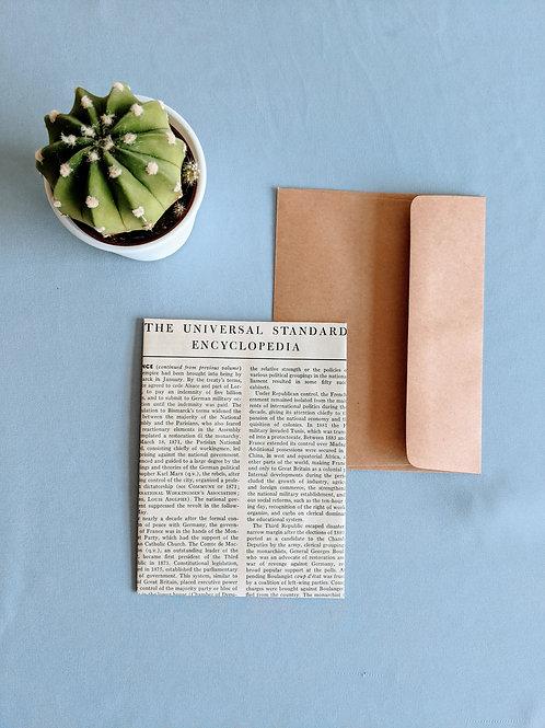BW Encyclopedia Note Cards