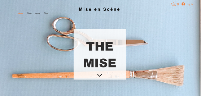 Mise About Page