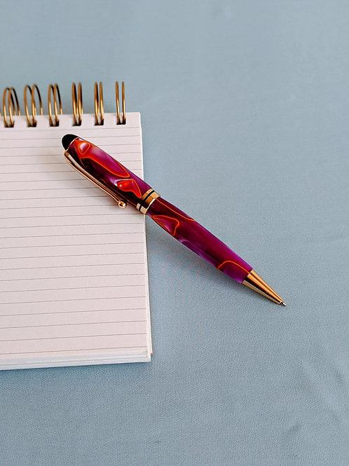 Lava Purple Designer Pen