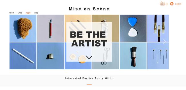 Apply Page, Mise en Scene