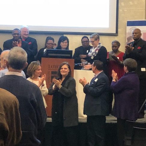 Marge Nykaza is honored by Ignatian Spirituality Project