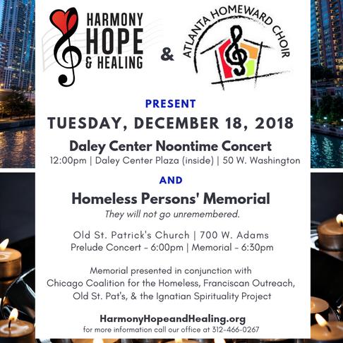 Voices for Hope & Home: Atlanta Homeward Choir visits Chicago!
