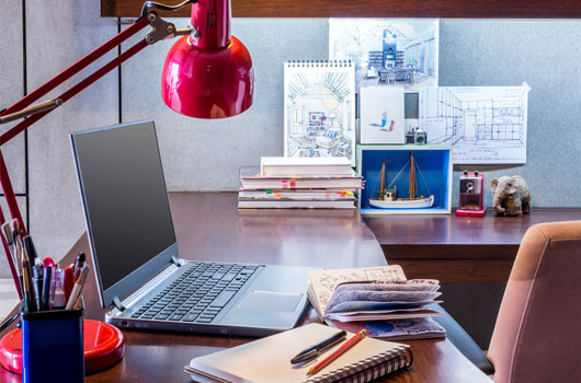 home office work table. How To Give Your Home Office Desk Some Love | Work From Today Job Revolution Table O