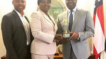 Interiors by La'Mar and Literacy to Legacy takes a day to award Mayor Kasim Reed.