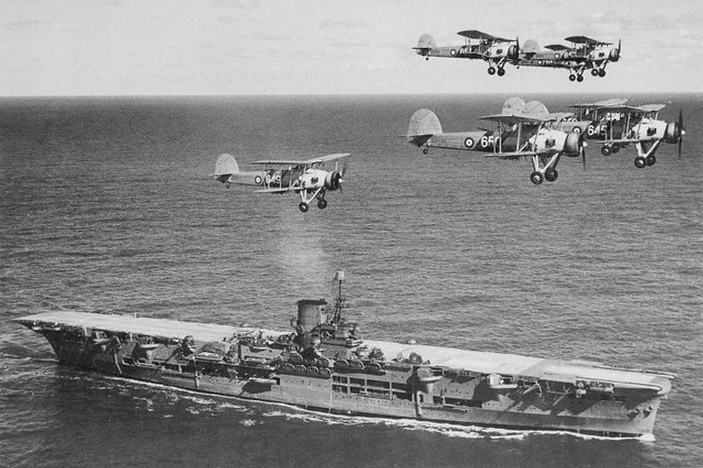 HMS Ark Royal in 1939 [Image credit: Wikipedia]
