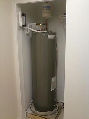 Plumber water heater
