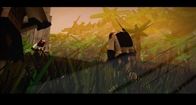 Still from 'Pixel Soldier' - Chris Landy