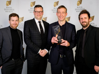 Breakdown Wins RTS award for best Sound in Drama