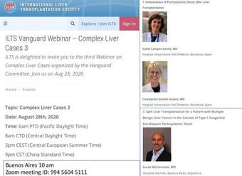 ILTS Vanguard Webinar - Complex Liver Cases 3