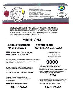 Marucha Oiser Blade Copertina di Spalla