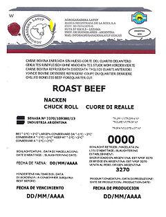 Nacken Chuck roll Rôti de boeuf Cuore di realle