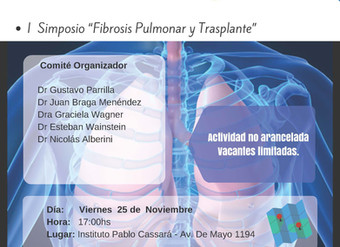 "I Simposio ""Fibrosis Pulmonar y Trasplante"""