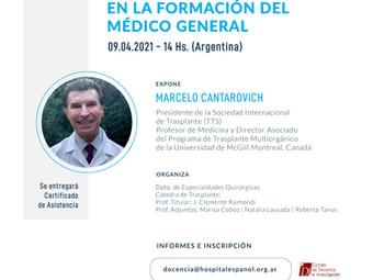 Conferencia Dr. Cantarovich