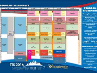 26º Congreso Internacional de Trasplante TTS 2016 - Hong Kong