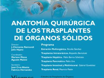 Anatomía Quirúrgica de los Trasplantes de Órganos Sólidos