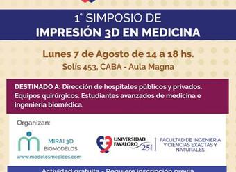 1º Simposio de Impresión 3D en Medicina