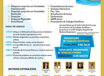 AAMR 45º Congreso Argentino                  de Medicina Respiratoria
