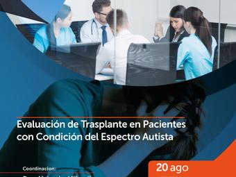 Evaluación de trasplante en pacientes con condición del espectro autista