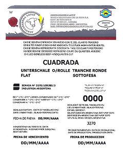 Unterschale o/rolle Flat Tranche Ronde Sottofesa