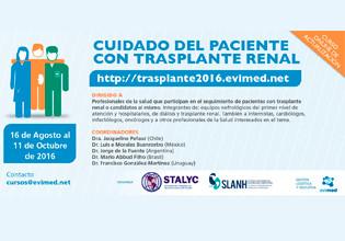 Curso Online Cuidado del paciente con trasplante renal