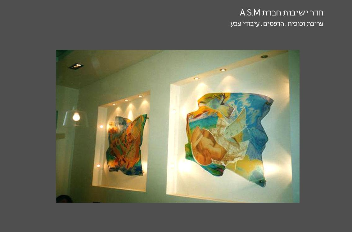 חדר ישיבות A.S.M חברת