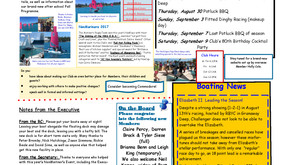 July - August 2017 Newsletter
