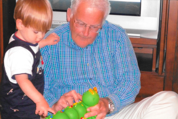 2009 aidan and grandpa