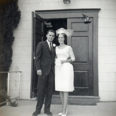 1963 scott and julie get married