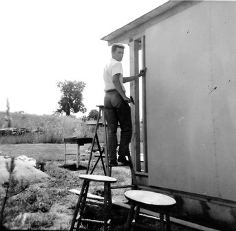 1957 building the seneca lake cottage