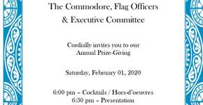 Annual Prizegiving - Feb. 2, 2020