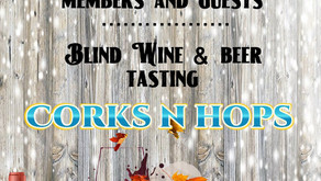 New Date - Sunset Blind Wine & Beer Tasting