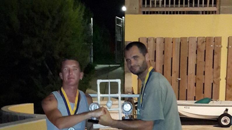 Winners - Drew & Benny.