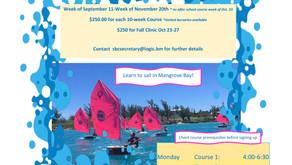 Fall Sailing Programme