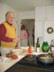 """2004 christmas prep at """"the landing"""" with scott managing"""