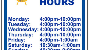 Remember - New Hours