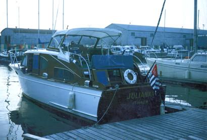 1974 julianna - a 1951 38' chris craft