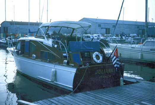 1974 julianna - a 1951 38' chris craft