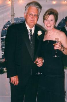 "2003 at ""the landing"" robin's wedding"