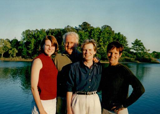 "1997 at ""the landing"" overlooking little greenwood creek"