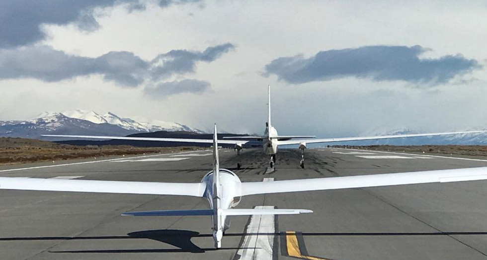 Ready to take-off!