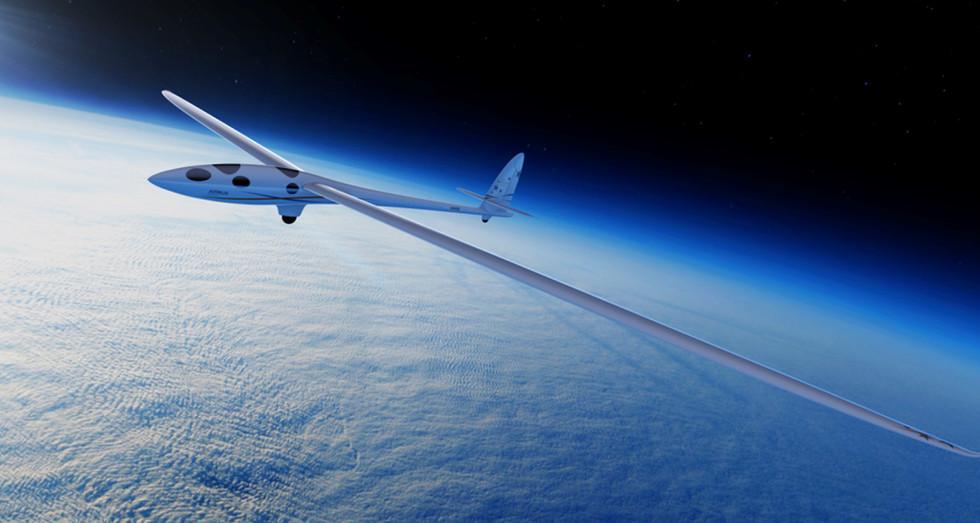 PERLAN II at altitude