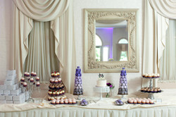 Lavender and Gray French Wedding