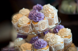 lace wedding cupcakes and desserts