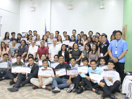 Moving Up: SDTP Batch 1 Celebrate their Achievements after 12-Week Training