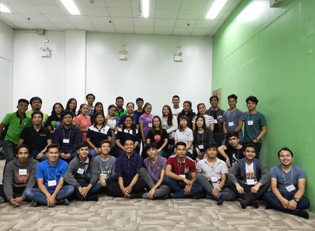 SDTP Students Undergo Geek Camp in Bacolod City