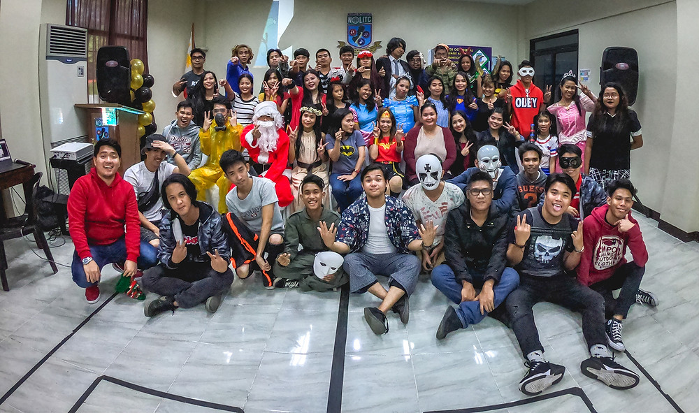 SDTP Christmas Party 2019: Batch 2 & 3 in their charming party costumes