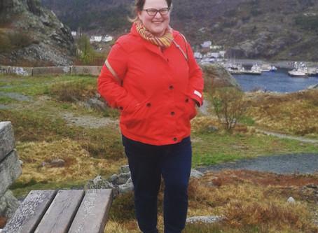 Meet Sarah Bell, MTA: Saint John, New Brunswick, Canada.