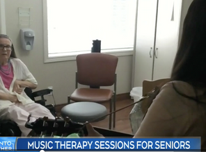 """CTV NEWS: """"Music therapy brings joy to isolated seniors during COVID-19 outbreak."""""""