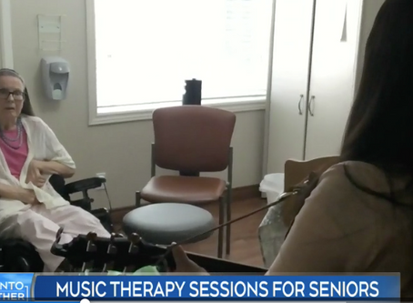 "CTV NEWS: ""Music therapy brings joy to isolated seniors during COVID-19 outbreak."""